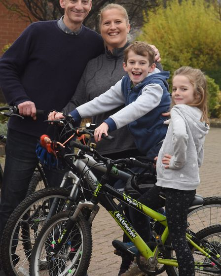 Her children, Harry and Freya, called for help when she was electrocuted. Photo: Denise Bradley
