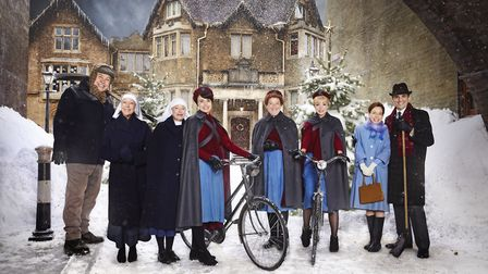 Call the Midwife is back - and it's snowing (unlike last year...)