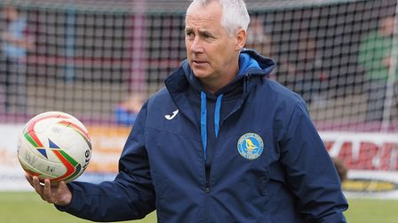 King's Lynn Town boss Ian Culverhouse is ready to 'circle the wagons'. Picture: Geoff Moore/Focus I