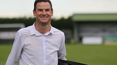 Dereham Town boss Neal Simmons. Picture: Rene Kendal