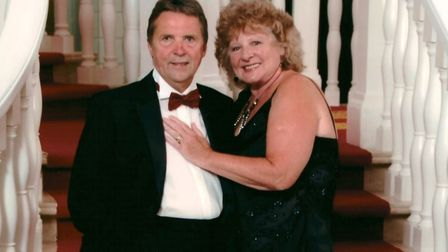 Linda Murray, from King's Lynn, who has praised the Big C. Pictured with husband Terry. Photo: The B
