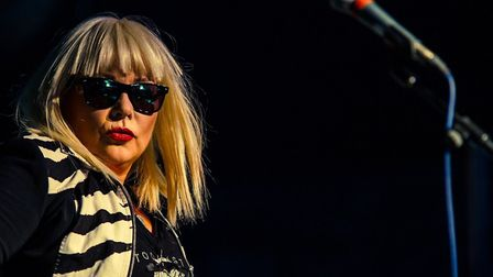 Blondie tribute act Blondied who will perform at the 2018 Norwich Fake Festival. Picture: ALEX WILLI