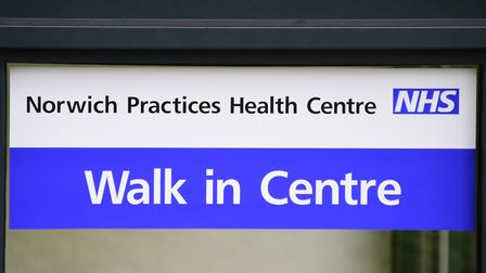 The entrance to the NHS Walk in Centre at Rouen House. Picture: DENISE BRADLEY