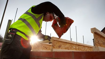 Housebuilders are confident about demand from customers. Picture: Submitted