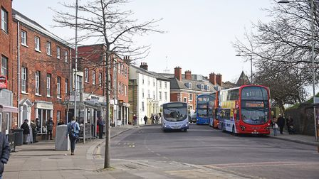 The Norwich Society has a host of ideas to improve city bus travel. Picture: ANTONY KELLY