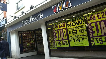 Andy's Records. Picture: Archant
