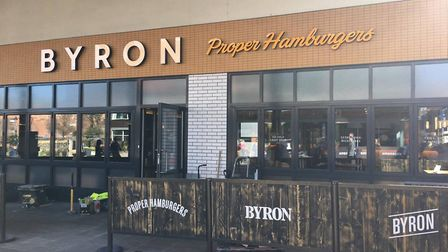 Byron in Norwich. The burger chain could close a number of restaurants as part of a restructuring pa