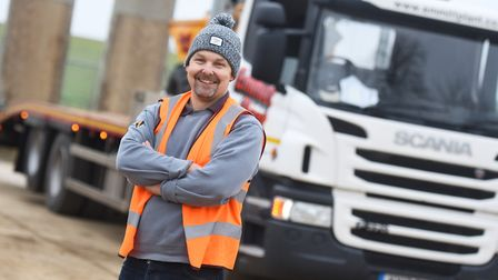 The father-of-four has worked for the company for five years. Picture: GREGG BROWN