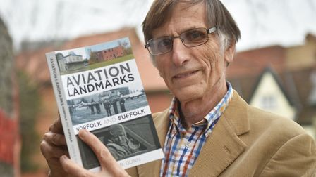 Author Peter Gunn with his new book.Picture: ANTONY KELLY