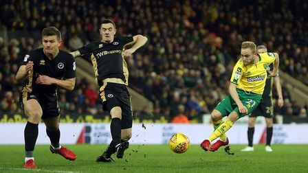 Huddersfield Town are reportedly interested in Norwich City's Alex Pritchard. Picture: Paul Chestert