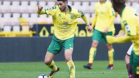 Adam Phillips in action for Norwich City U23s earlier this season. Picture: Ian Burt