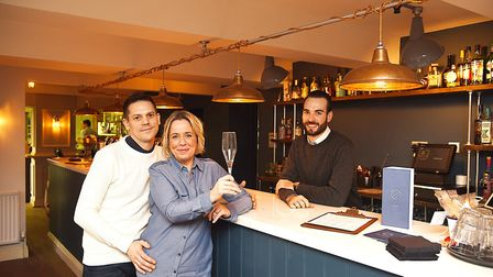 Market Bistro owners Richard and Lucy Golding have transformed The Wenns pub in King's Lynn, to open