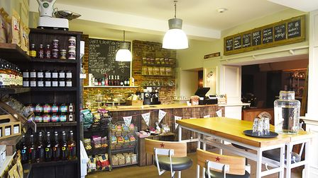 The new deli at Goldings in King's Lynn. Picture: Ian Burt