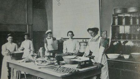 Colman's Connections exhibition at the Forum. Pictured: Carrow works Kitchen 1910 - 1911. Picture: R