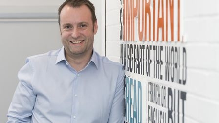 Jonathan Bean, managing director of Signs Express in Norwich, who took the top job following a manag
