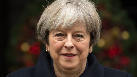 Prime Minister Theresa May leaves 10 Downing Street. Picture PA Wire.
