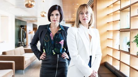 Nina (Annabel Scholey) and Hannah (Nicola Walker) take the title roles in The Split (C) Sister Pict