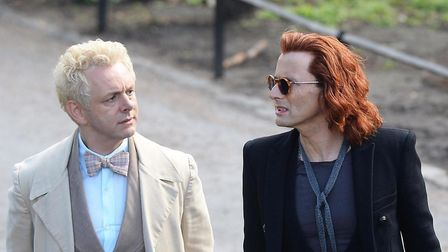 Good Omens, starring Michael Sheen and David Tennant as angelic and demonic forces fighting the apoc