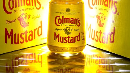 Colman's Mustard made by Unilever.Picture: ANTONY KELLY