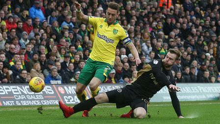 Captain Ivo Pinto is trying to lead from the front at Norwich City. Picture: Paul Chesterton/Focus I