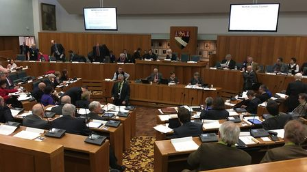 Norfolk councillors vote to keep controversial allowance increase. File photo of County Hall. Pictur