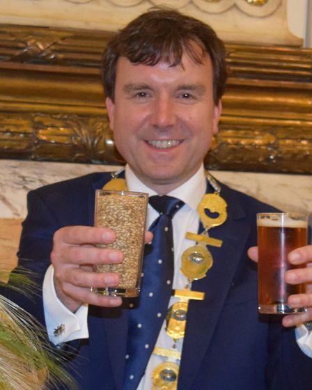 Andrew Griffiths MP, in his role as chairman of the All Party Parliamentary Beer Group.