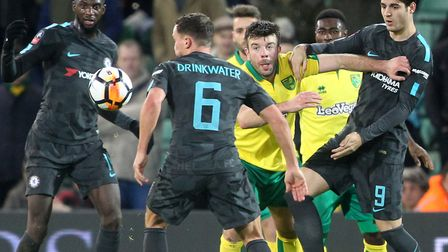 Grant Hanley keeps his eyes on the prize as Norwich City battle to a goalless FA Cup third round dra