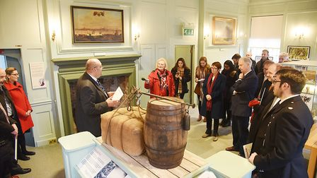The official launch of Love West Norfolk campaign at the Customs House in King's Lynn. Picture: Ian