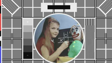 The television test card, first seen on BBC Two in 1967, featuring Carole Hersee. Picture: PA