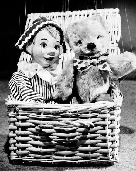 The old Andy Pandy and Teddy were part of the monochrome era - and on TV on New Year's Day, 1968. Th