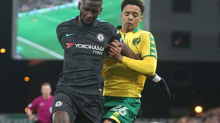 Jamal Lewis continues to look the part as he breaks into Norwich City's senior squad - emphasised by