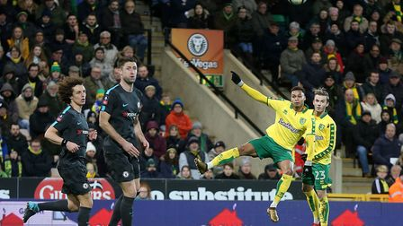 Josh Murphy led the Norwich City charge on plenty of occasions against Chelsea in their FA Cup tie a