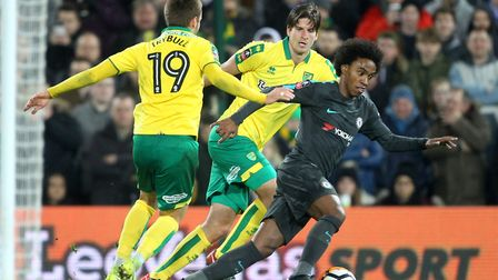 Willian was the best of the Chelsea bunch during their goalless FA Cup draw with Norwich City at Car