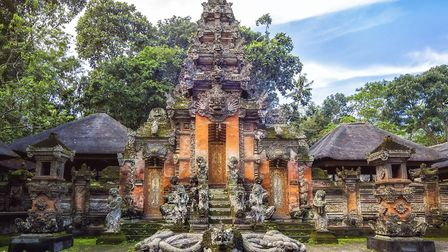 Temple at Monkey Forest Sanctuary in Ubud, Bali. Picture: THINKSTOCK