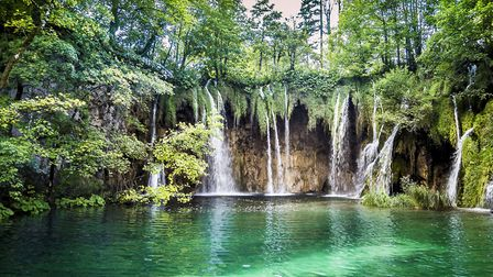 Waterfalls in Plitvice Lakes National Park, Croatia. Picture: THINKSTOCK