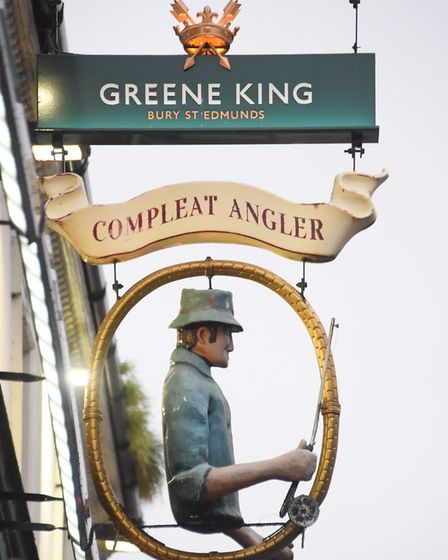 The Compleat Angler which is flourishing after becoming a home fans pub about a year ago. Picture: D