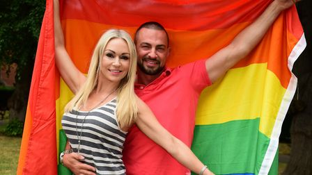 Former Strictly Come Dancing stars Kristina Rihanoff and Robin Windsor are returning to the region w