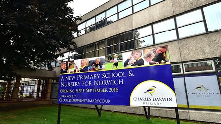 The Charles Darwin Primary School.Picture: ANTONY KELLY