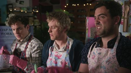 Lovesick - Angus, Dylan and Luke in the Netflix sitcom