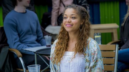 Lovesick on Netflix - the very lovely Antonia Thomas plays Dylan's best friend Evie