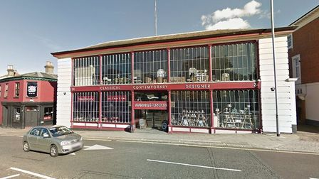 The former home of Warings could become a five storey block of flats. Picture Google