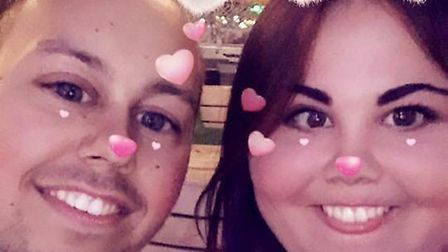 Dan Moore has paid an emotional tribute to his girlfriend Kimberley Hudson, who died in a crash at t