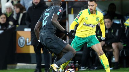 Josh Murphy was a standout performer in the first tie. Picture: Paul Chesterton/Focus Images