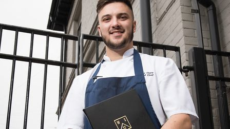 Alex Clare, winner of Best Chef in the Norfolk Food and Drink Awards 2017. Picture: Contributed