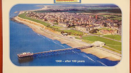 The Heritage Centre in Hunstanton. Pictured is the Pier in 1968. Picture: Ian Burt