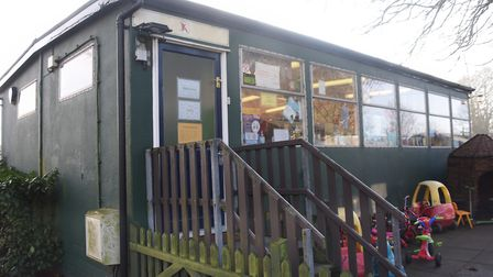 The mobile which has housed the Kenninghall Pre-school Nursery for over 25 years. Picture: DENISE BR