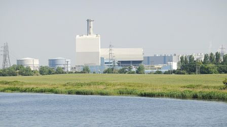 The new power station would be built to the existing King's Lynn Power Station. Picture: Ian Burt