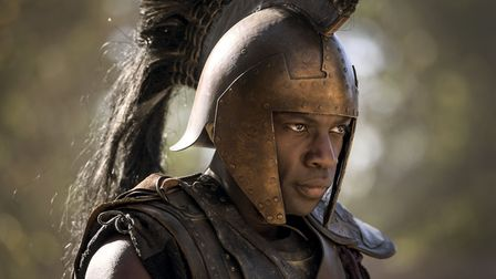 Troy - Fall of a City - David Gyasi plays Achilles (C) Wild Mercury Productions