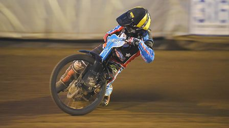 Lewis Kerr is ready to start flying again at King's Lynn. Picture: Ian Burt