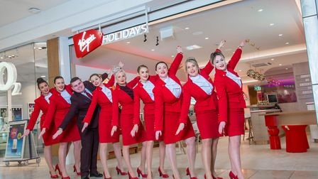 Virgin Holidays new store at intu Chapelfield, Norwich . Photo credit Simon Finlay Photography for V